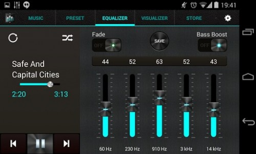 Ecualizador+ mp3 Player Volume para android