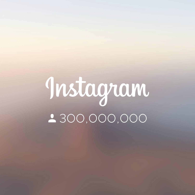 instagram 300 millones de usuarios