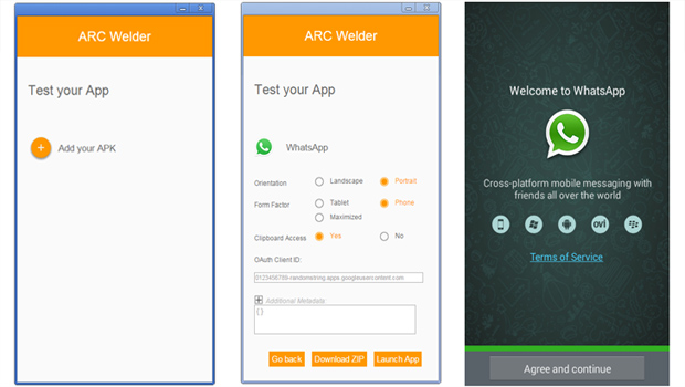 arc welder android