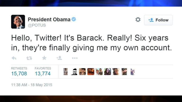 obama primer tuit