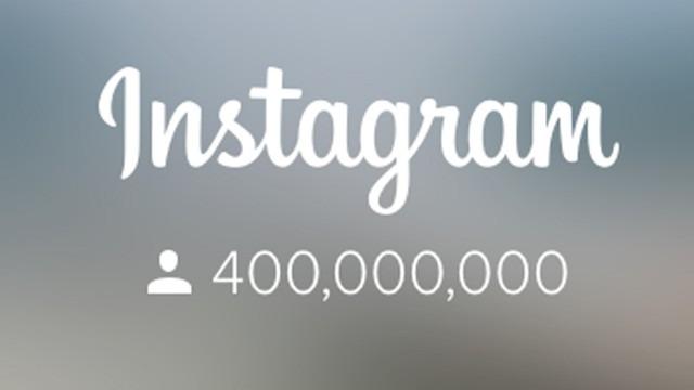 instagram 400 millones