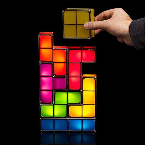lamparas de tetris