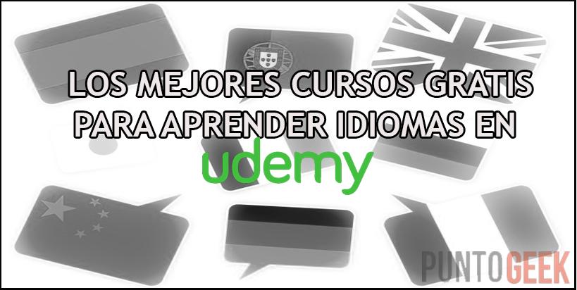 Los mejores cursos gratis para aprender idiomas en Udemy