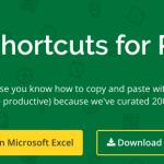 200 atajos de teclado para ser un dios en Excel