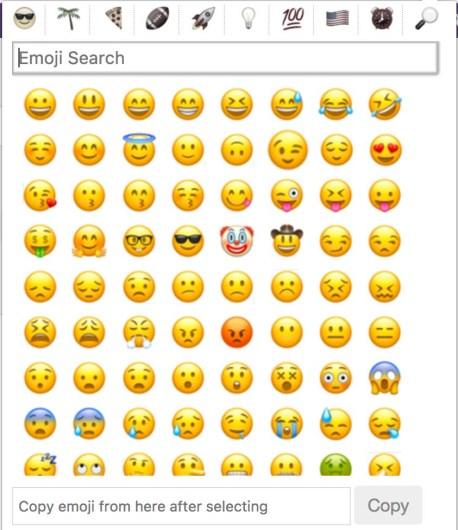emojis chrome