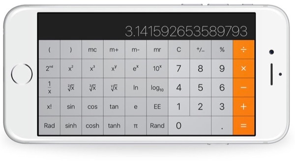 Calculadora del iPhone