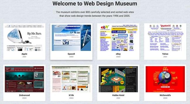 El Museo del Diseño Web