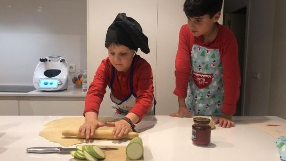 recetas con niños