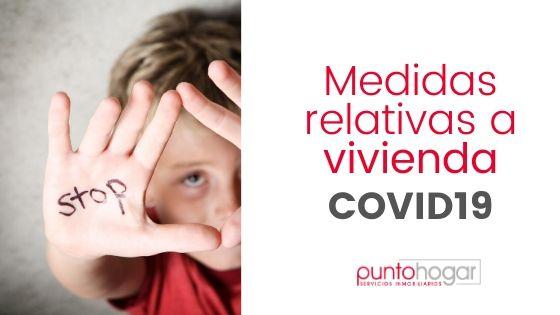 MEDIDAS VIVIENDA CORONAVIRUS