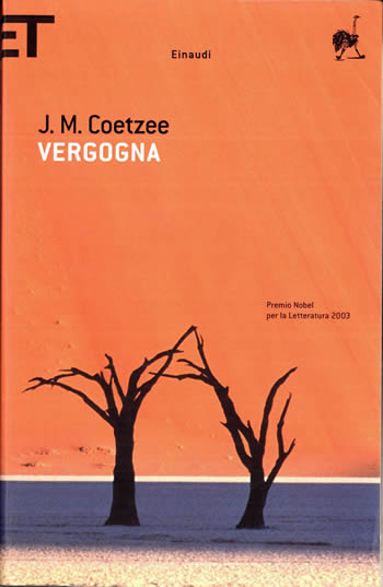 Vergogna di J.M. Coetzee