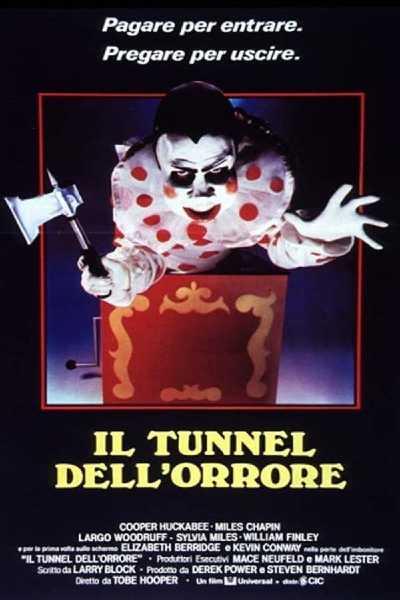 """Il film del giorno: """"Il tunnel dell'orrore"""" (su Mediaset Italia 2)"""