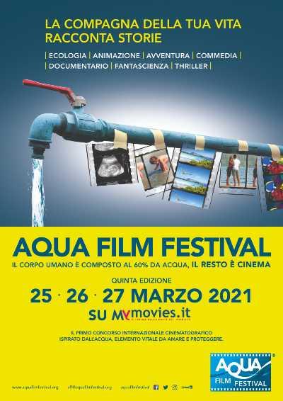 AQUA FILM FESTIVAL - Su MYMOVIES.it dal 25 al 27 MARZO