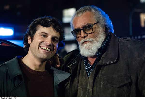 """Fine riprese per """"DICA 33!"""" di GUIDO CHIESA con l'inedita e strana coppia DIEGO ABATANTUONO e FRANK MATANO"""