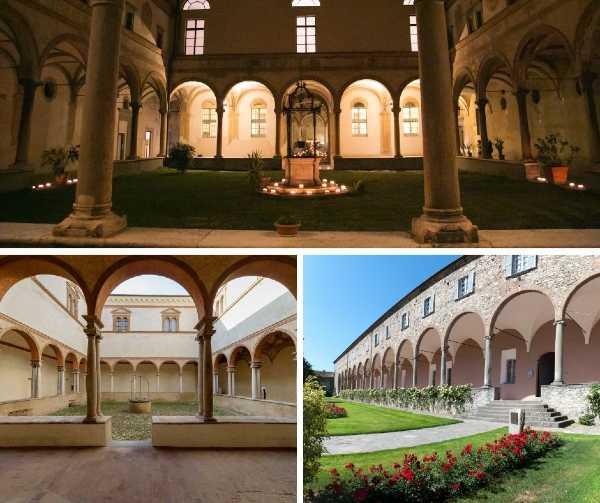 Un tour alla scoperta dei chiostri tra Parma, Piacenza e Reggio Emilia