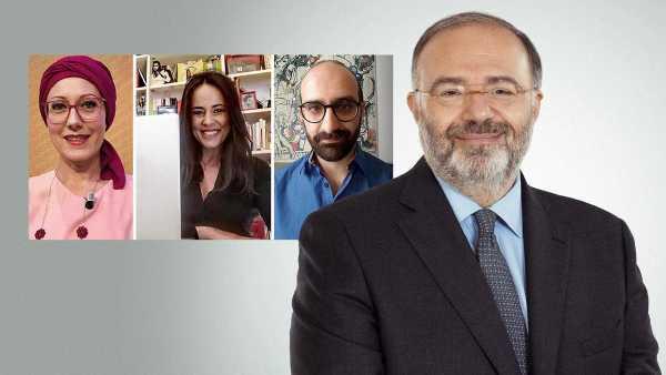 """Oggi in TV: Il """"Tv Talk"""" di Rai3 - Eleonora Daniele e Selvaggia Lucarelli tra gli ospiti di Massimo Bernardini"""
