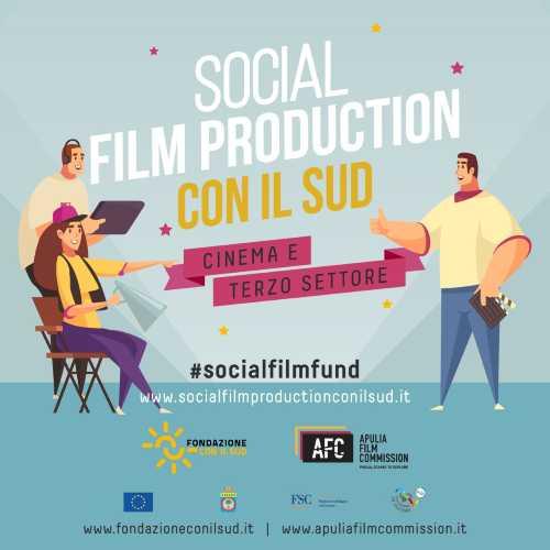 """Selezionati i 10 progetti filmici del """"SOCIAL FILM PRODUCTION CON IL SUD"""""""