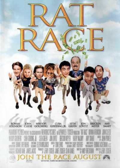"""Il film del giorno: """"Rat Race"""" (su Spike)"""