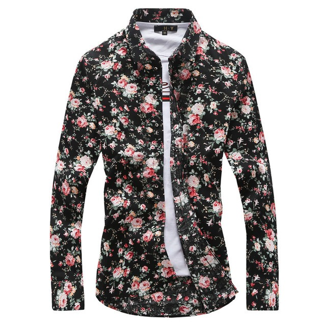 Royles! Men's Standard-Fit Long-Sleeve Printed Shirt