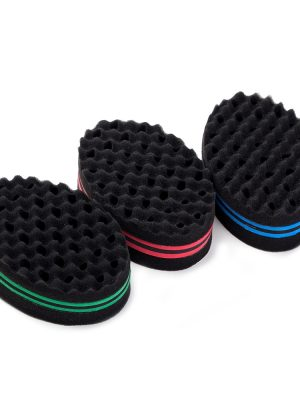 Curly Hair Styling Sponge Brush Dreads Lock Foam