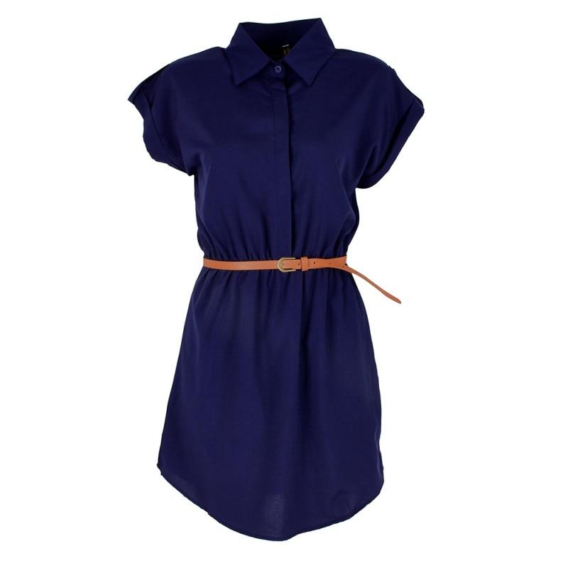 Plain Summer Mini Dress  1