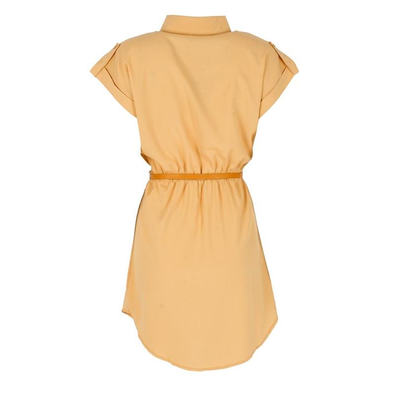 Plain Summer Mini Dress  2