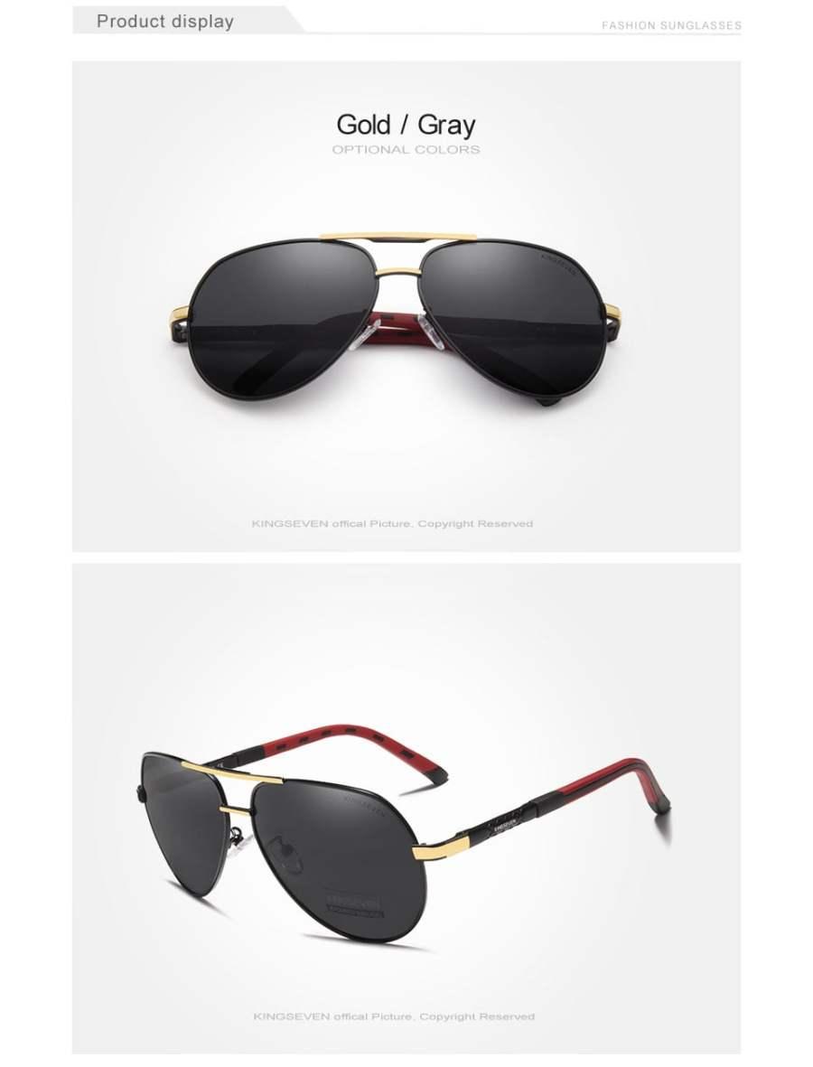 Aluminum Polarized Sunglasses Eyeglasses 22
