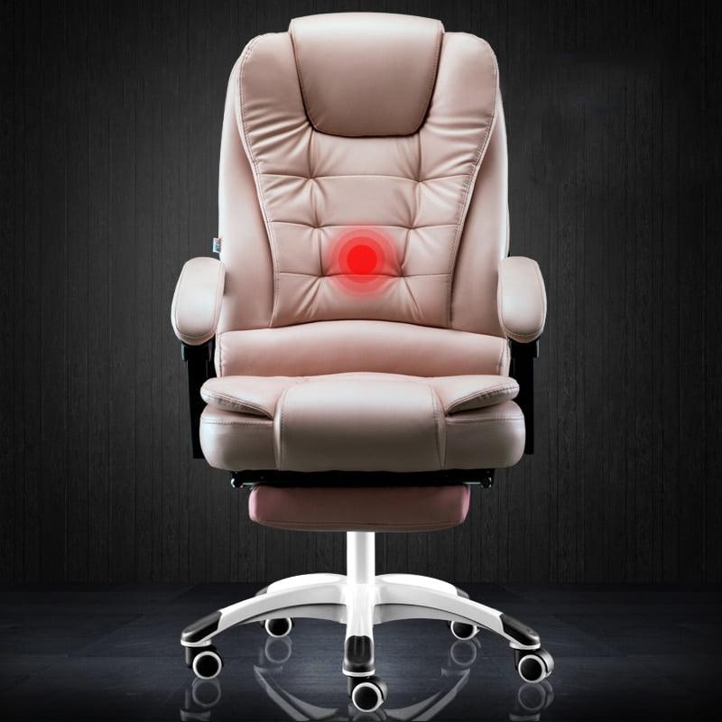 Reclining massage foot rest seat  4