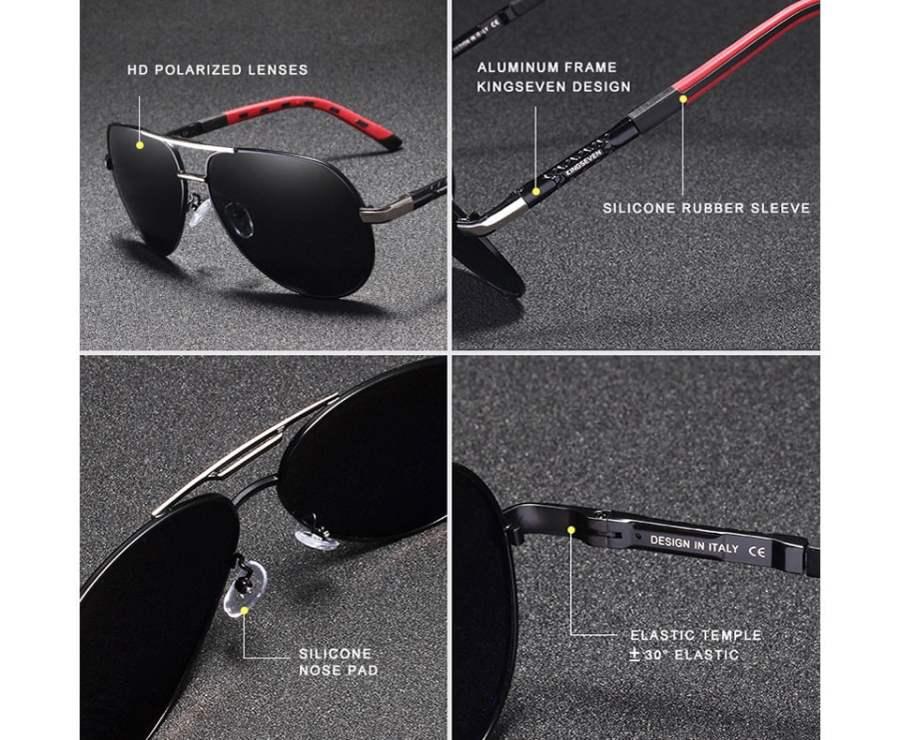 Aluminum Polarized Sunglasses Eyeglasses 18
