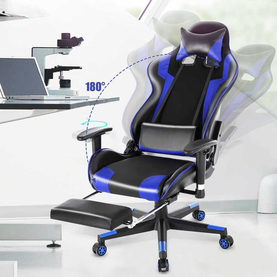 Ergonomic Gaming Recliner Office Chair 23
