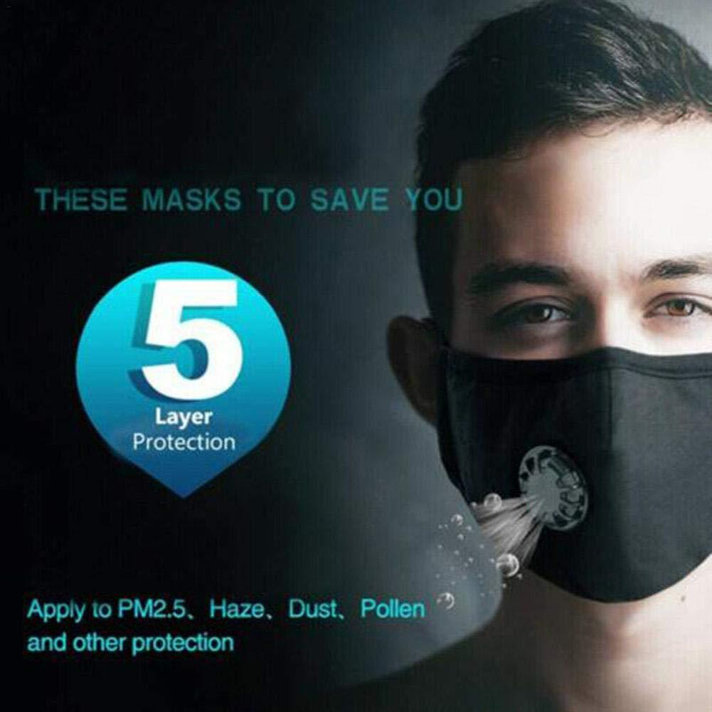 Cotton Breath 5 Layer N95 Face Mask Anti-Dust Anti Pollution Protection 1