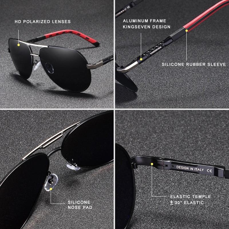 Aluminum Polarized Sunglasses Eyeglasses 2