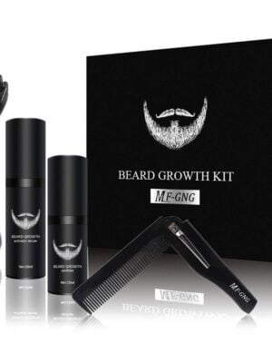 Beard Growth Enhancer Kit With Nourishing Conditioner Oil 7