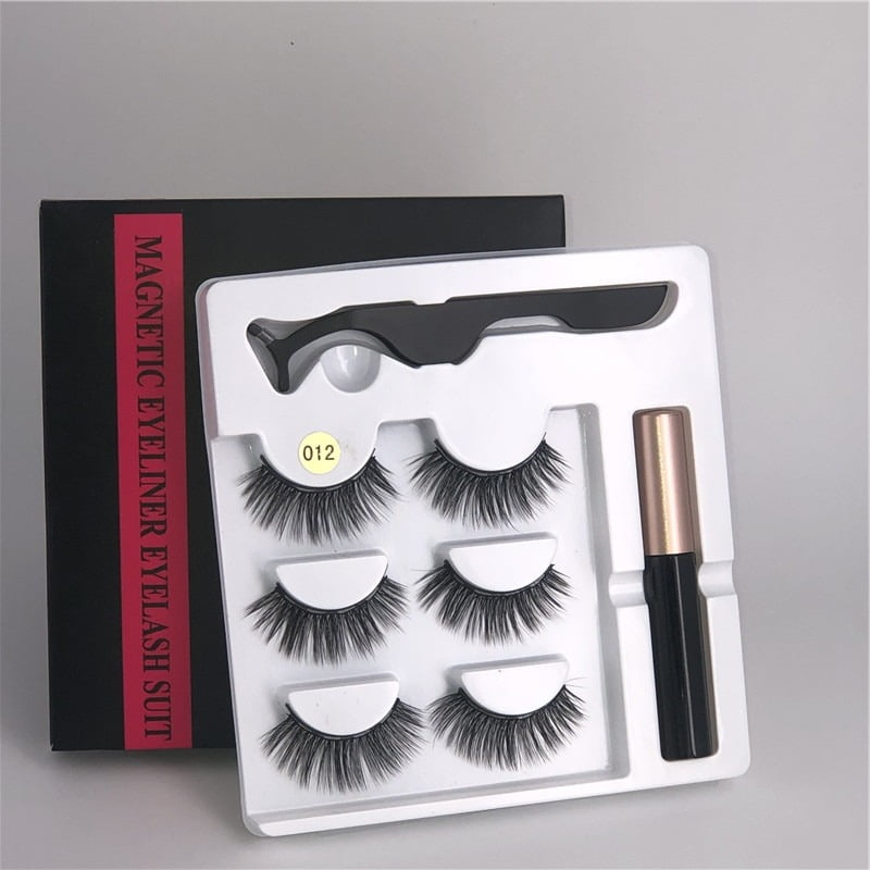 Waterproof Magnetic Eyelashes Extension 8