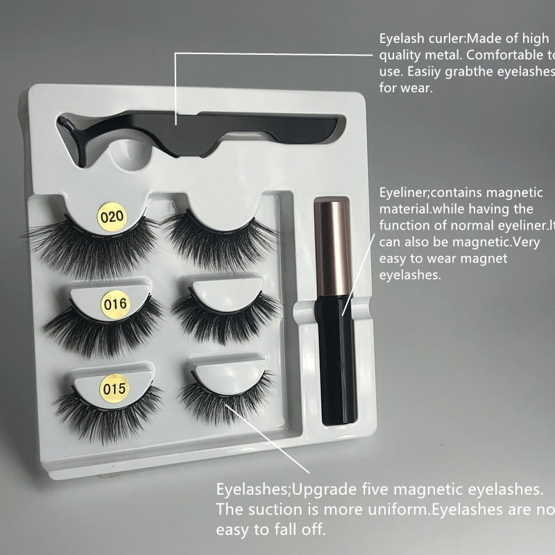 Waterproof Magnetic Eyelashes Extension 1