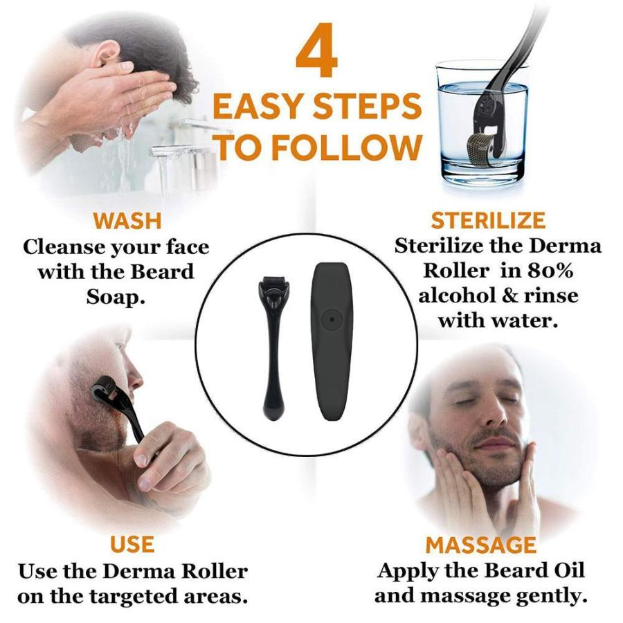 Beard Growth Enhancer Kit With Nourishing Conditioner Oil 2
