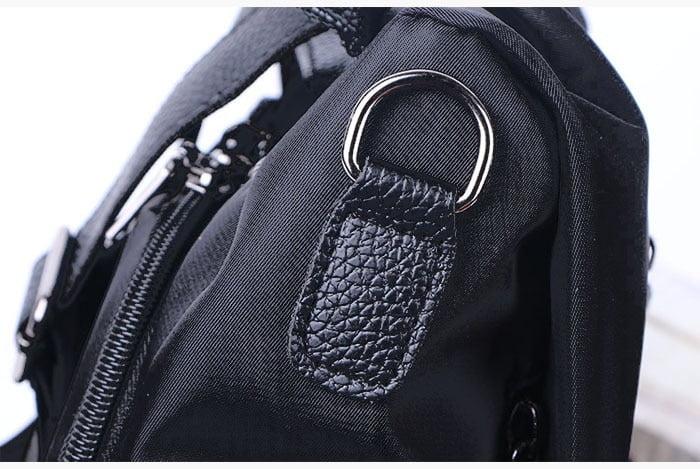 Women Anti-Theft Waterproof Fabric Backpack 12