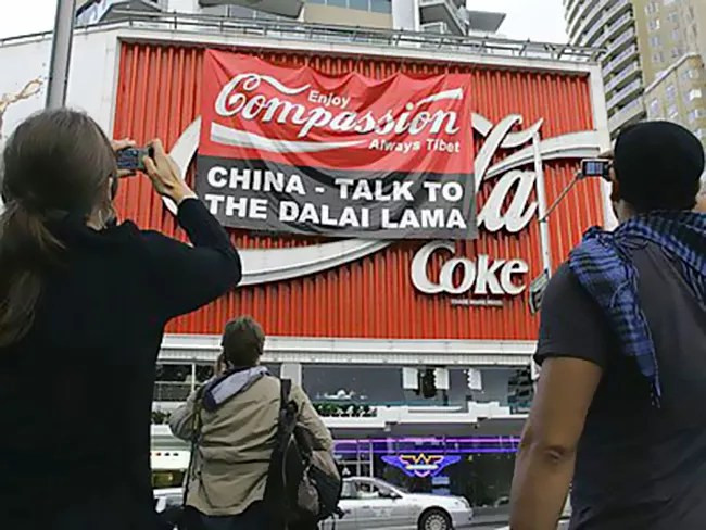Coca Cola sponsorship as flashpoint for Tibet — both ways
