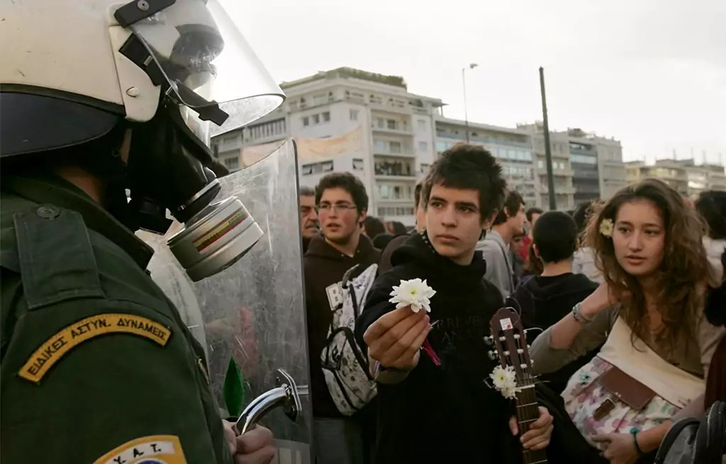 2008 Greek riots – A Pictorial