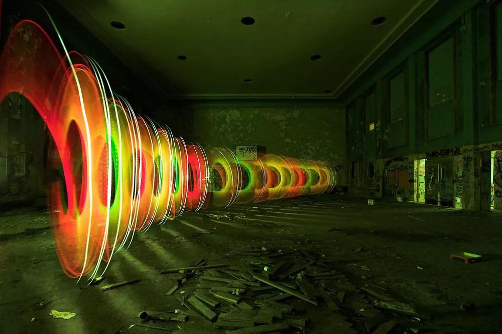 Light Painting Artist JanLeonardo