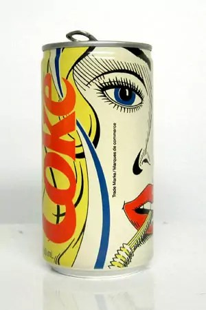 Vintage Coke Can Designs 16