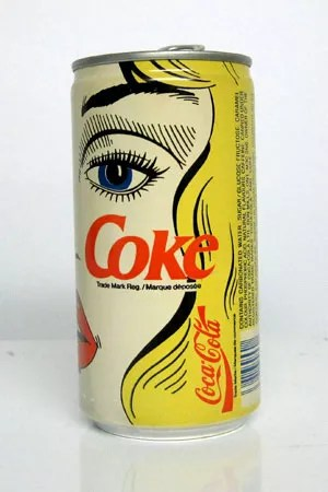 Vintage Coke Can Designs 18