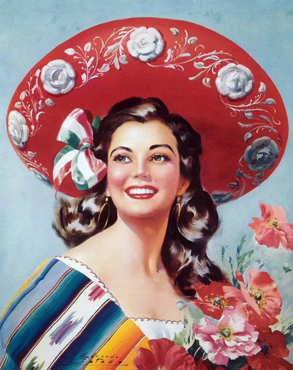 Random found Mexican Calendar images