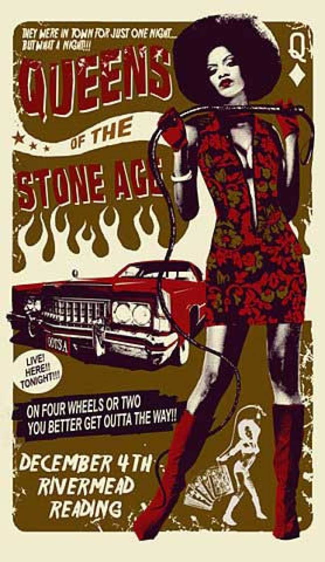 Queens of the Stone Age posters 04