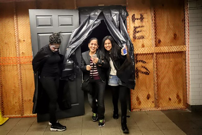 Haunted Subway At Union Square Station NYC