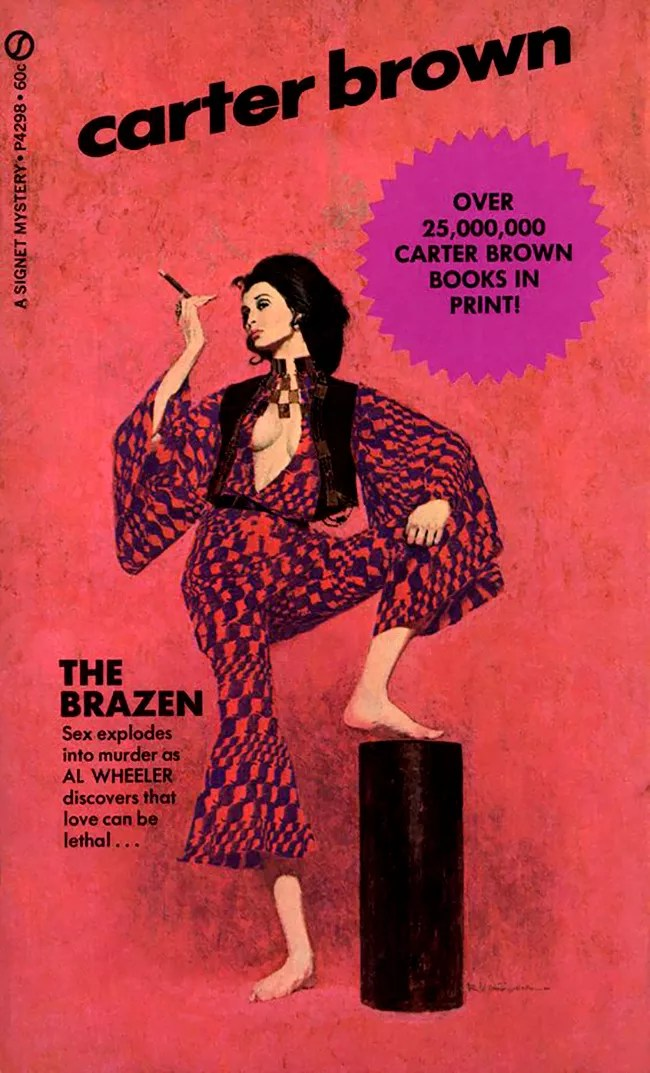 The Penny Dreadful Covers Of Carter Brown