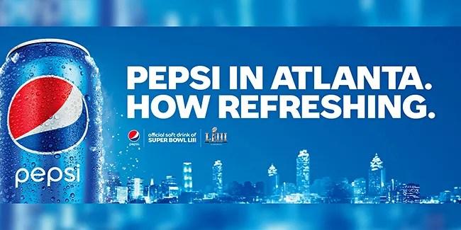 The biggest rivalry in Atlanta this weekend… Pepsi Vs Coke