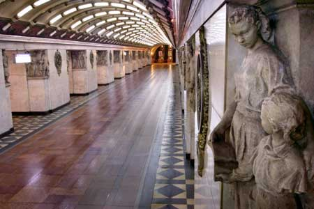 Russian subway art collections