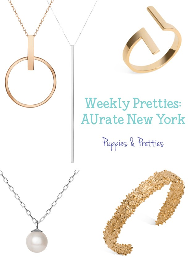AUrate New York | Fine jewelry, No concessions. AUrate has some great jewelry options that will stand the test of time and style | Puppies & Pretties