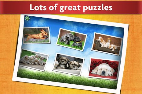 Dogs Jigsaw Puzzles Game