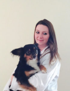 PetFirst Pet Insurance guest blogger Amber Drake and her dog